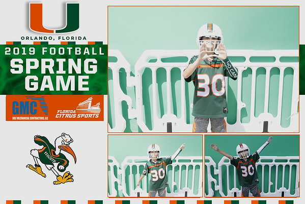 UM 2019 Football Spring Game