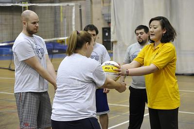 28192 WVU CPASS PETE Volleyball Class March 2012