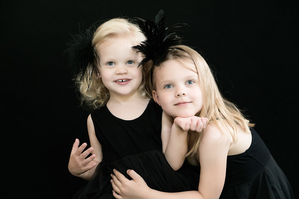Black Dresses & Black Feathers