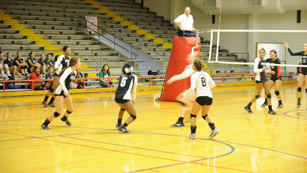 2011-09-16 Volleyball Varsity Girls Westside v Bellaire @ Butler