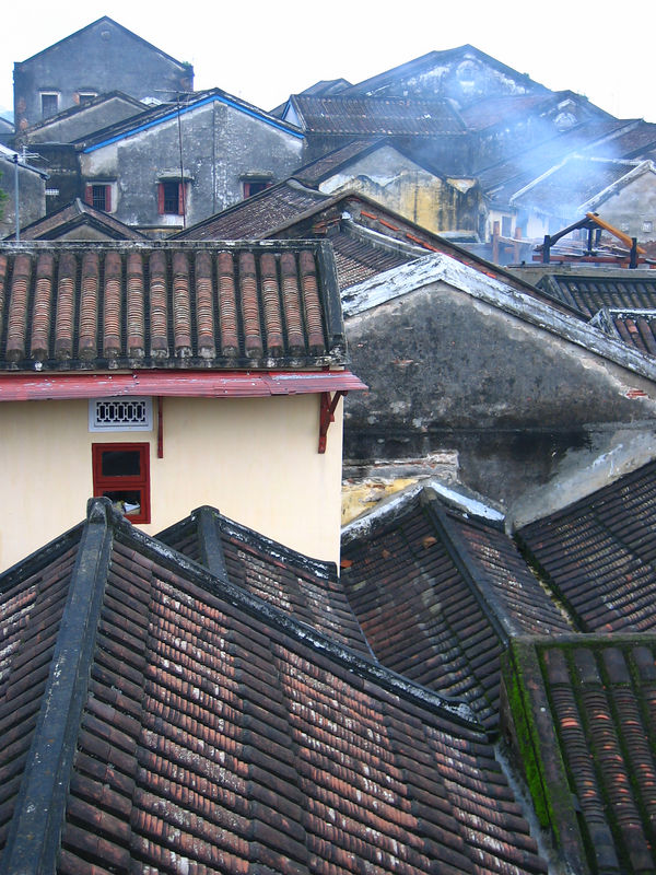 ceramic rooftops of hoi an