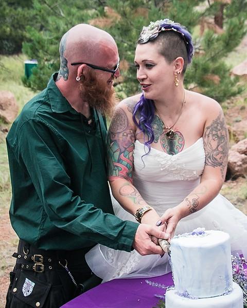 Justin and Ashley - Viking Wedding!