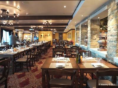 La Cucina, O'Sheehan's, Moderno, Prime Meridian NORWEGIAN GETAWAY Jan 2014