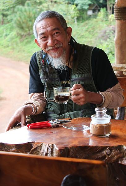 Doi Chaang Coffee President, Khun Wicha