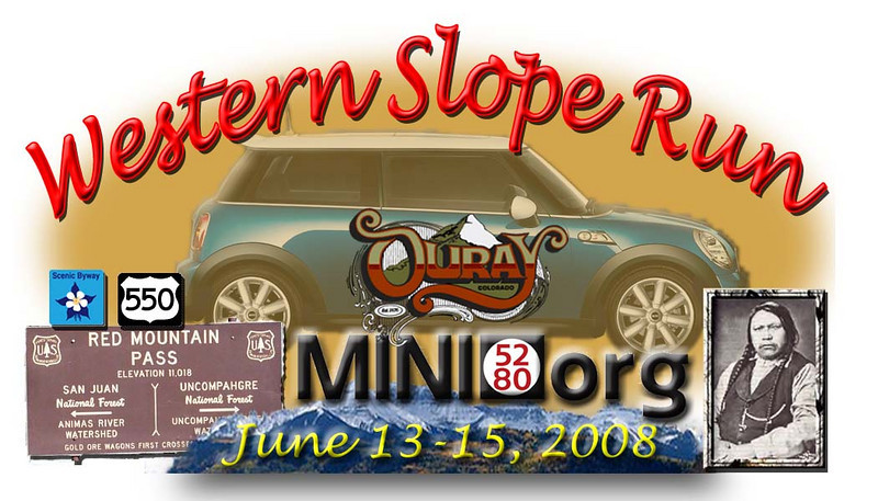 The official Western Slope Ride magnet, issued to all participants!