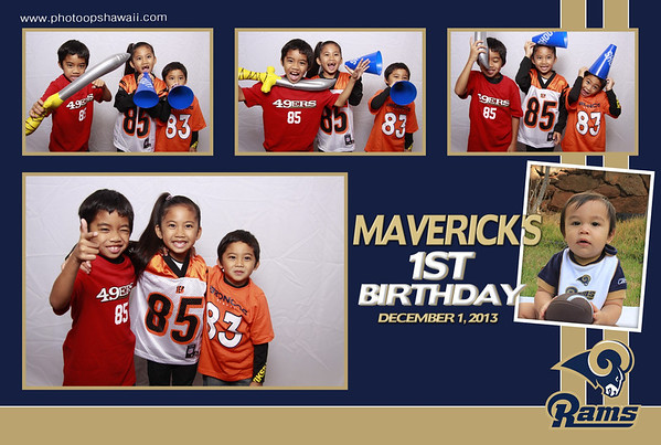 Maverick's 1st Birthday (Fusion Portraits)
