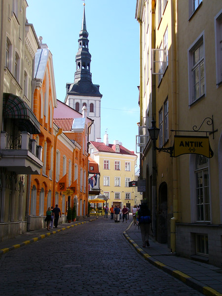 Talin, Estonia - Very picturesque town