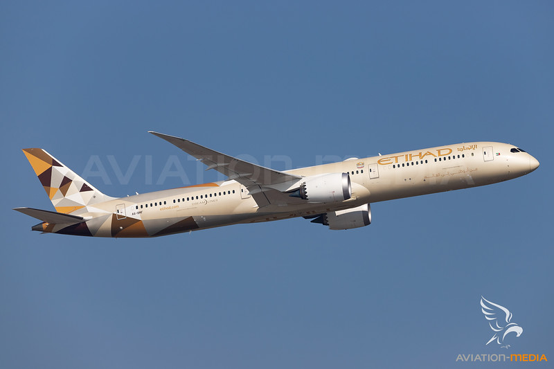 Etihad Airways / Boeing 787-10 / A6-BMF