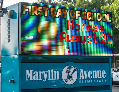 180820 FIRST DAY OF SCHOOL - MARYLIN AVENUE ELEMENTARY
