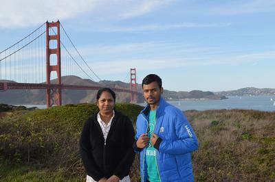 San Francisco, California - With Tessy Aunty & Shobin 🔒