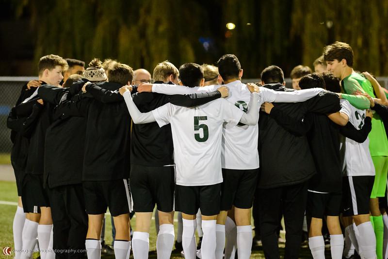 THS Boys Varsity Soccer vs Grant
