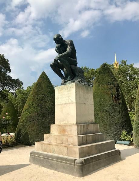 Rodin's Thinking Man