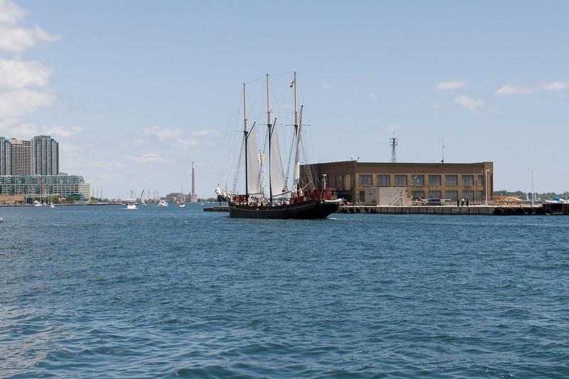 Kajama Sailing By