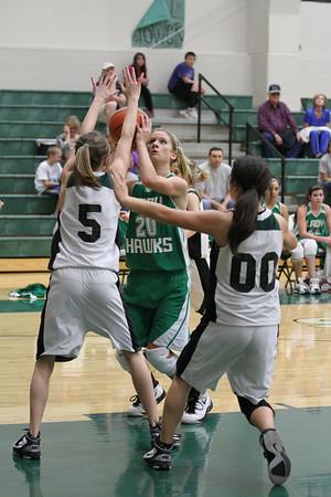 2012-Jan-31 JV Girls vs Grape Creek