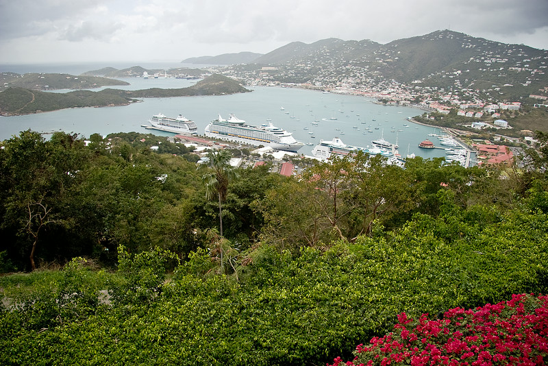 Charlotte Amalie Harbour from Paradise Point