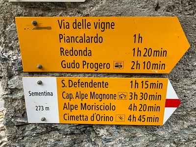 Bellinzona - October
