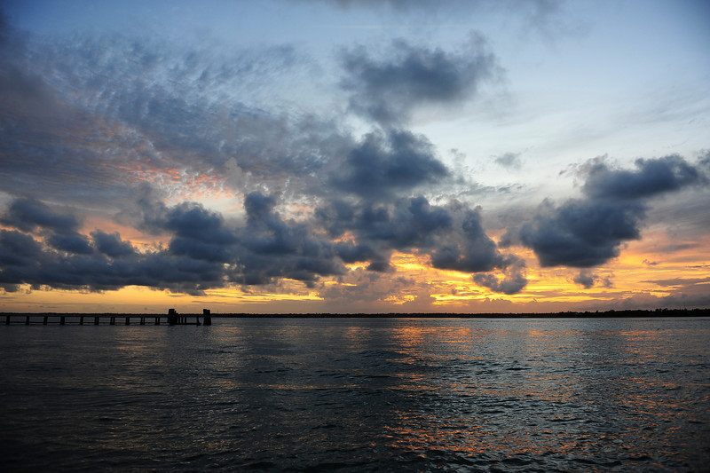 summer evening, Topsail Isl NC
