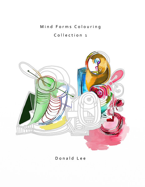 Colouring Book - Mind Forms Colouring Collection 1
