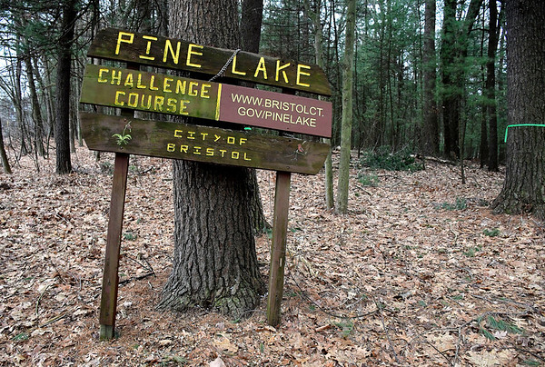 2/18/2020 Mike Orazzi | Staff The Pine Lake Challenge Course in Bristol.