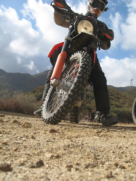ADV ride Sunday 10-04-2009 Ben, Steve, Mike and Tony Castaic area