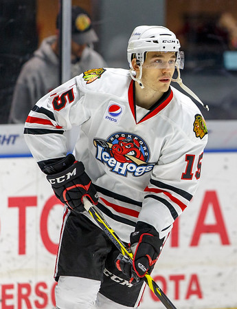IceHogs vs Griffins 12-06-14