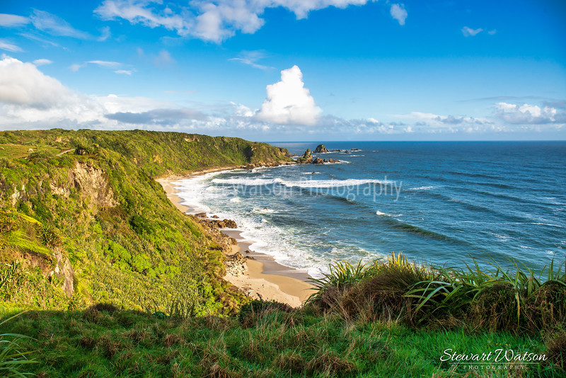 Cape Foulwind coastal lighthouse walk 05