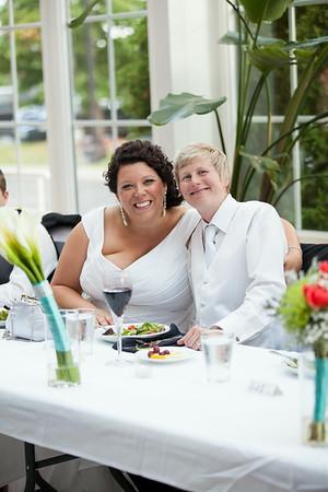 Kim + Kim's Wedding Reception in Bloomington, MN