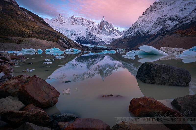 Patagonia - Iceberg Beach