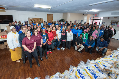 Donation of Thanksgiving Meals 2019