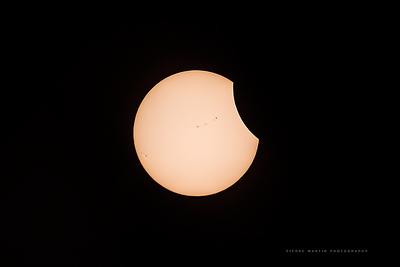 August 21 2017 Total Solar Eclipse - Idaho, USA - PART 2