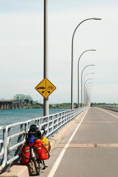 Estacade du pont Champlain, Montréal