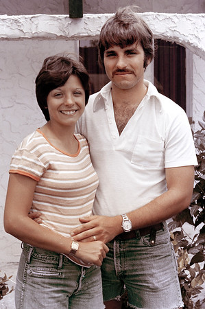 1976-9-12 Dianna & Steve In Daytona