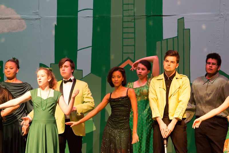 """Emerald City Ballet"" -- ""The Wiz"", Montgomery Blair High School spring musical, March 26, 2017"