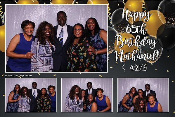 Nathaniel's 65th Birthday Party
