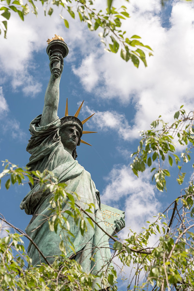 Replica of Statue of Liberty, Tokyo