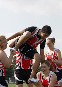 SNHS Track Team 2008