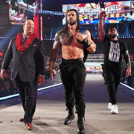 Roman Reigns - Digitals / Wrestlemania  April 11, 2021