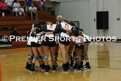 La Porte Varsity Volleyball vs Baytown Lee 8/14/2012