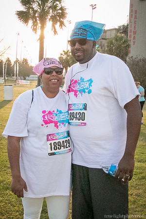 Color Vibe 5K at the Darlington Raceway