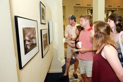 Art Juried Student Exhibit Opening