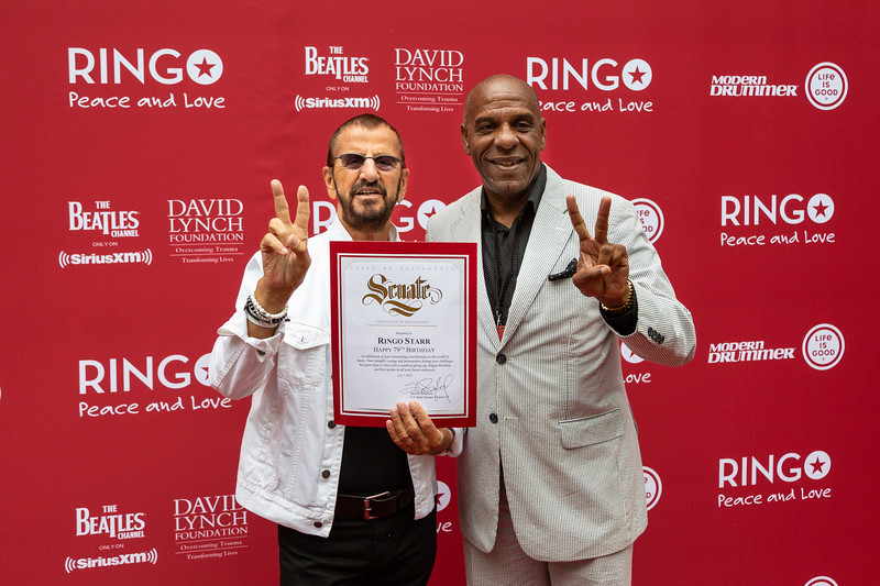 2019_07_07, Birthday, CA, Capitol Records, Los Angeles, Ringo, Ringo Starr, Senator, Steven Bradford