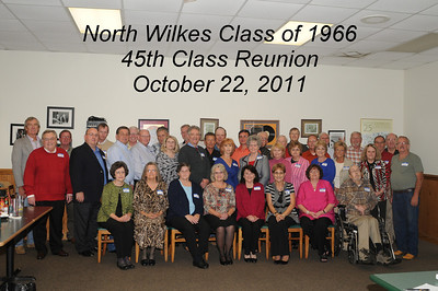 North Wilkes Class of 1966