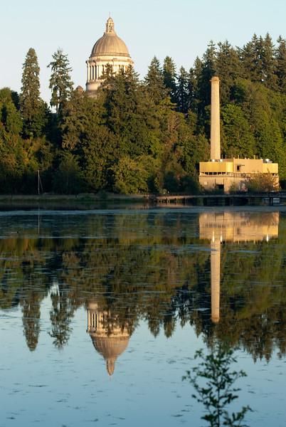 Capital Lake, Olympia WA