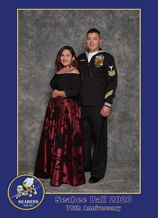 Seabee Ball 2020 Portraits