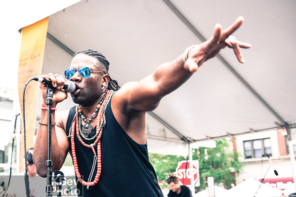 Obisoulstar, Sharon Irving, ONEFREQ @ Silver Room Block Party (Jul 17)