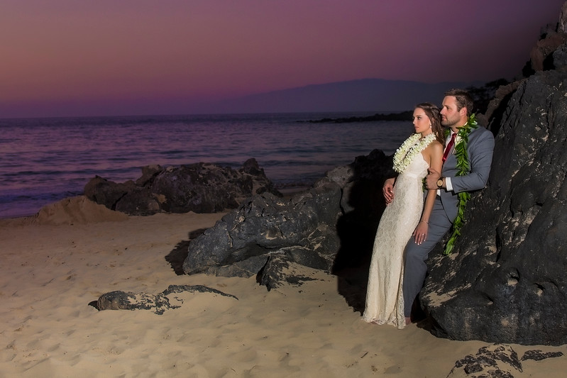 Madison & Tim - Wedding Portraits, Hawai'i