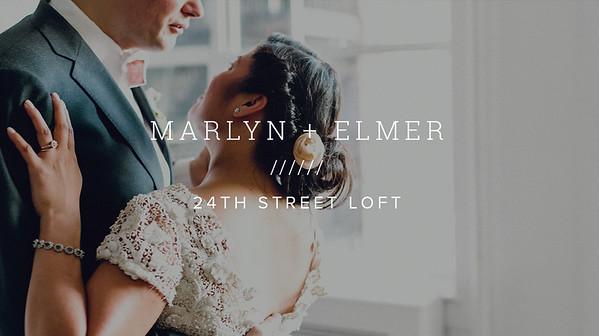 MARLYN + ELMER ////// 24TH STREET LOFT