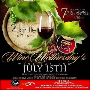 24 Grille 7-15-15 Wednesday