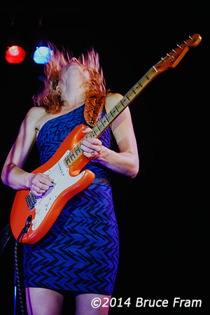 Ana Popovic at Moes Alley