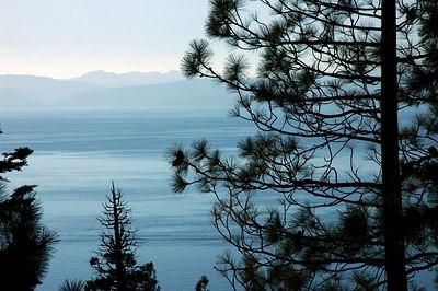 Lake Tahoe and surrounding area